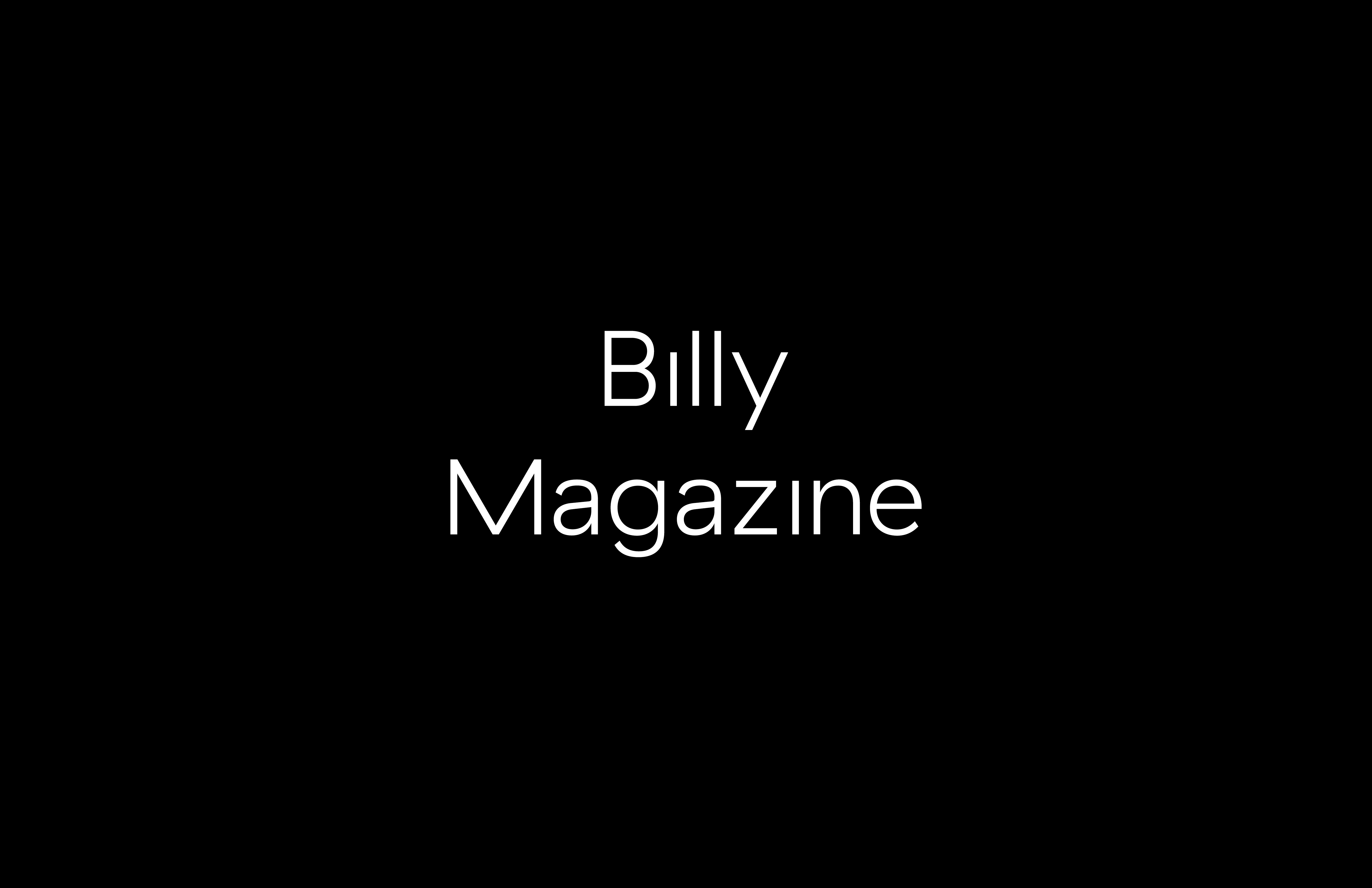 Billy-Portfolio